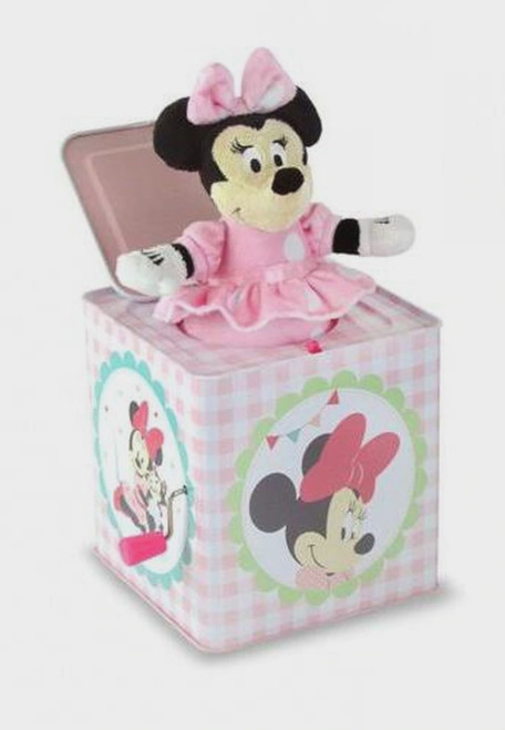 DISNEY MINNIE MOUSE JACK IN THE BOX