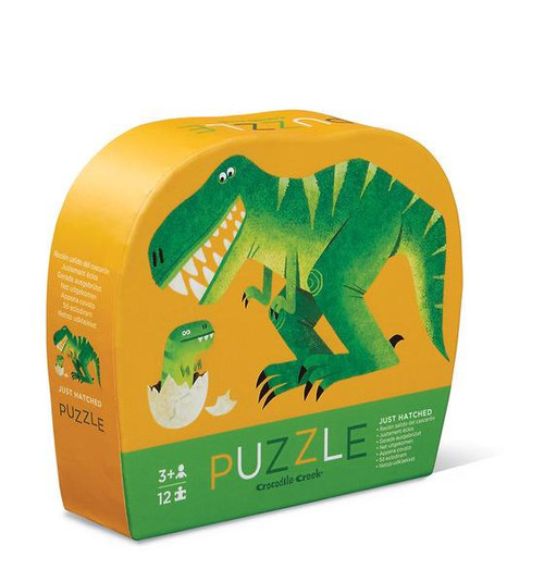 JUST HATCHED DINO MINI PUZZLE 12 PCS