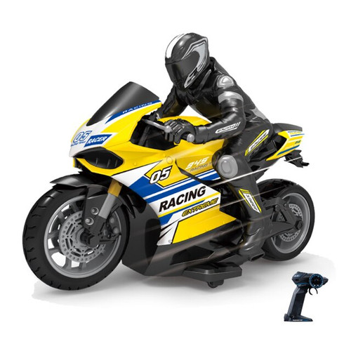 1:10 R/C MOTORCYCLE YELLOW/RED