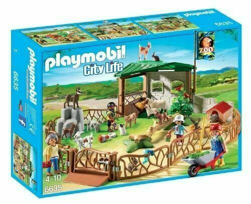 PLAYMOBIL CHILDREN'S PETTING ZOO