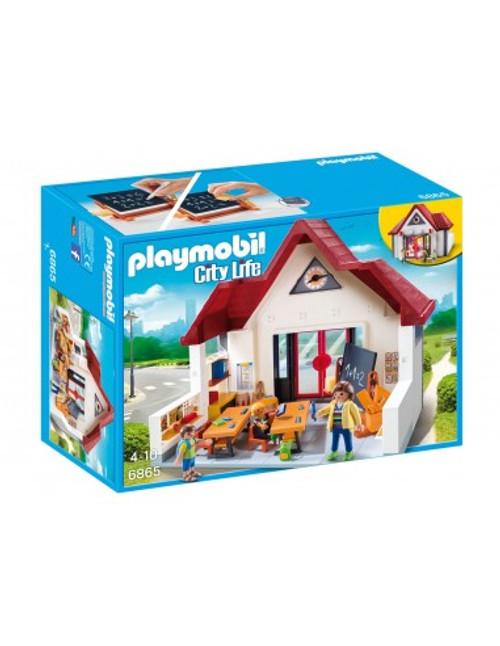 PLAYMOBIL CITY LIFE SCHOOL HOUSE