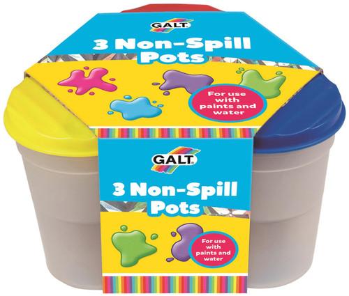 3 NON SPILL POTS
