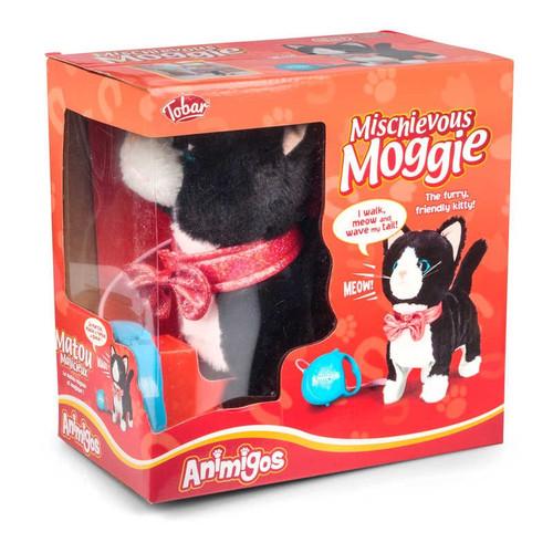 MISCHIEVOUS MOGGIE CAT
