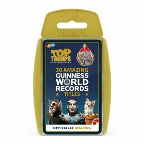 TOP TRUMPS 30 AMAZING GUINNESS WORLD RECORDS
