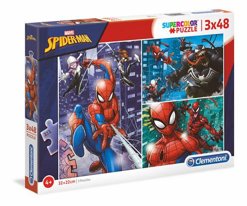 MARVEL SPIDER-MAN PUZZLE 3X48 PC