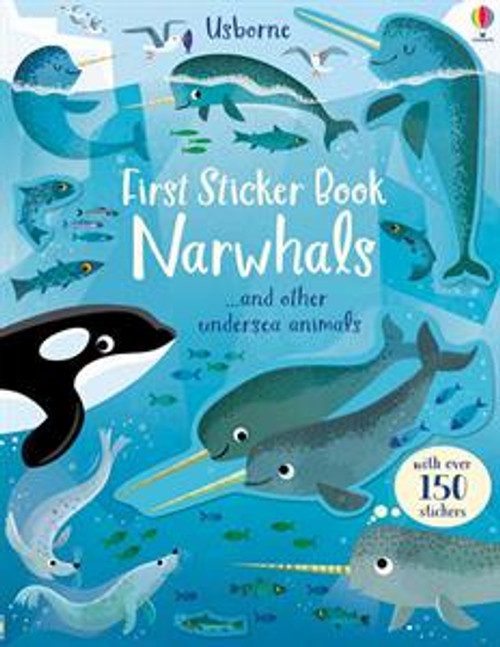 NARWHALS FIRST STICKER BOOK