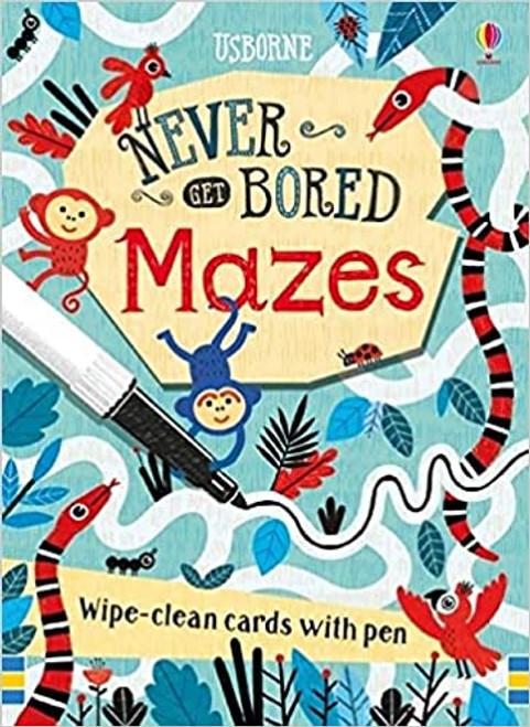 NEVER GET BORED MAZE CARDS