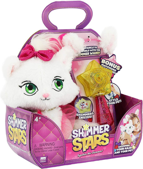 SHIMMER STARS MUMMY AND BABY CAT
