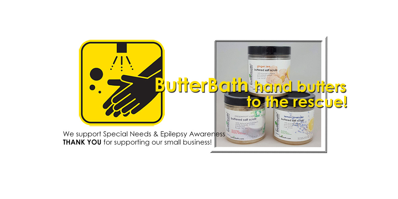 Buttered Salt Scrubs