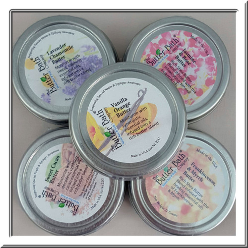 Tiny Specialty Butters from The Butter Bath Company®