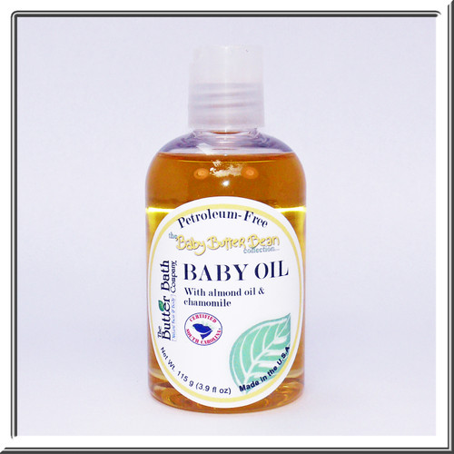 Petroleum-free Baby Oil is the perfect skin moisturizer for EVERY AGE!