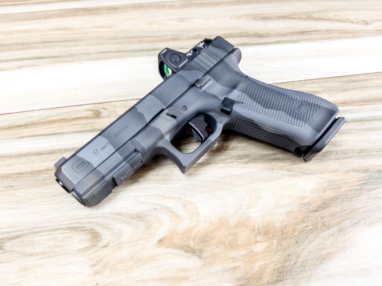 Glock 17 Gen 5 9mm, Cerakote Urban Tiger stripe