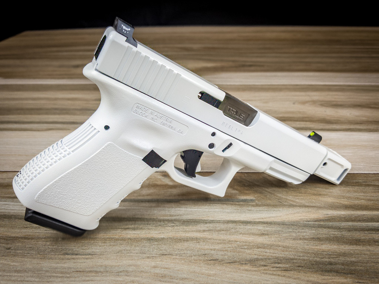 cerakote service stormtrooper white refinishing on your pistol