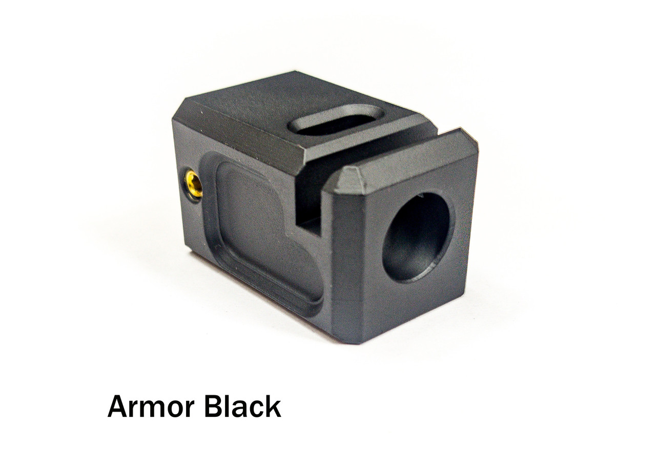 Legion Precision 9mm compensator Anodized