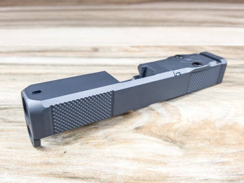 Legion Precision Dimpled Slide with Trijicon RMR optic cut for Glock 26 Gen 3 & 4