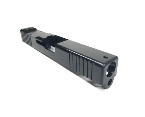 Legion Precision Barato Minimalist RDO Slide for Glock 19 Gen 3 OEM Profile with Forward Serrations and Trijicon RMR/Holosun 507C optic cut Nitride Finish