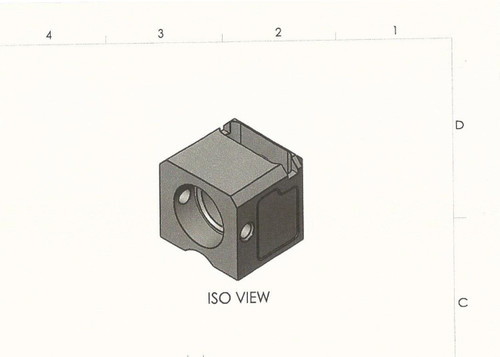 ISO view from approved blueprint