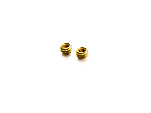 Legion Precision 9mm comp replacement set screws brass