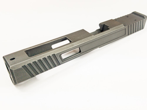 Legion Precision Duty slide for  Glock 34 Gen 3 on Blank slide we provide