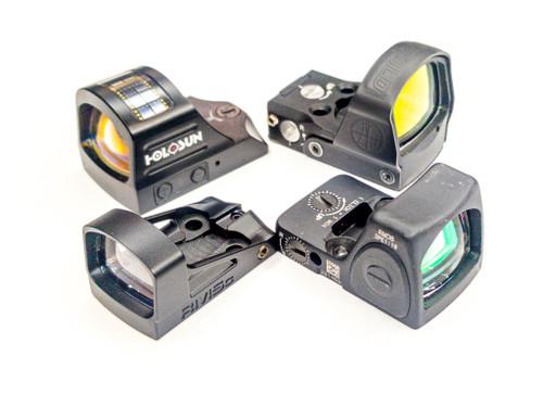 Optic cut on customer provided Glock slide 48 hour turn time