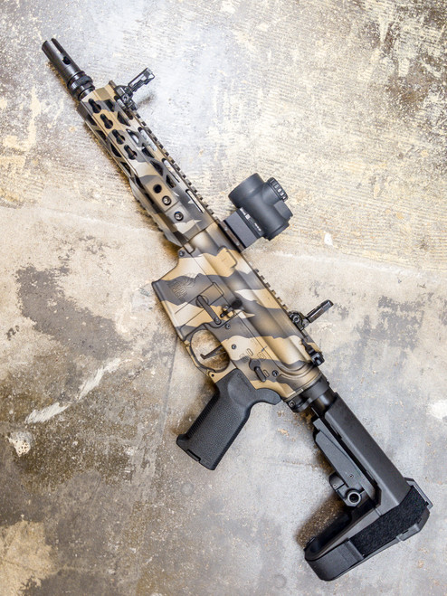 Cerakote  service Tiger stripe  AR15/AR10