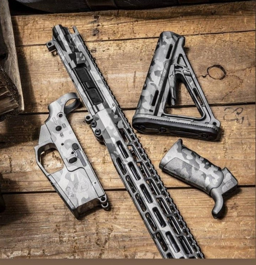 "Cerakote Service ""Fifty Shades of Grey"" multicam AR15/AR10"