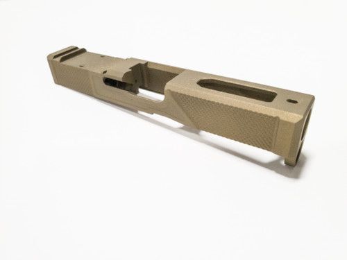 Gen 5 Glock 19 Dimpled Slide cerakote burnt bronze for Glock 19 Gen 5/Glock 45/Glock 19X