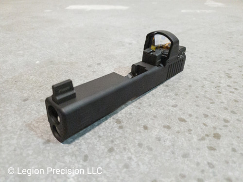 Glock optic cut & Leupold Deltapoint Pro on customer provided slide