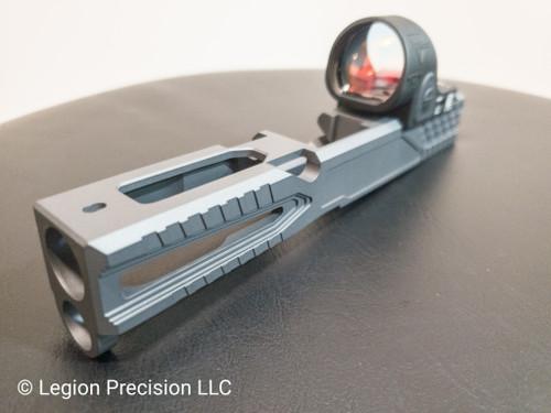 Glock optic cut & Trijicon SRO 2.5moa on customer provided slide