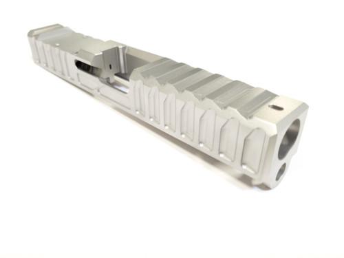 Light Weight Cut for Glock 19 gen 1 thru 5 on Blank Slide