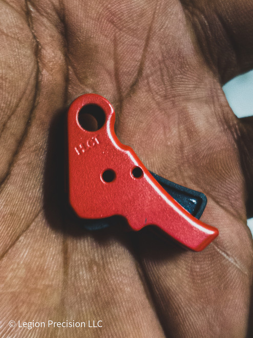 ACTION ENHANCEMENT TRIGGER FOR SPRINGFIELD HELLCAT STOPLIGHT RED