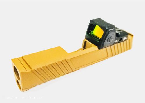 Optic cut on customer provided Sig P365 slide Trijicon RMRcc