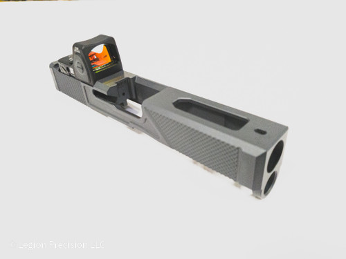 Glock optic cut & Trijicon RMRcc  3.25moa  on customer provided slide