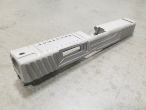 Urban Warfare Cut for Glock 48 on Blank slide we provide