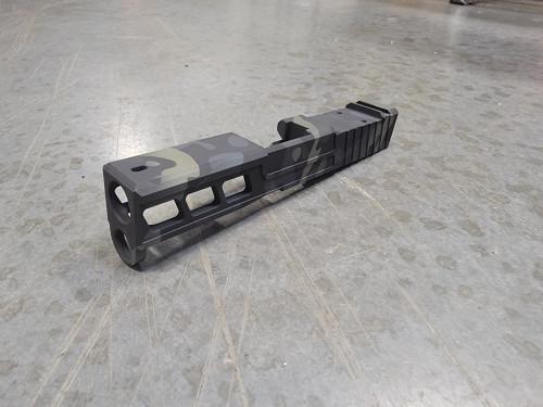 Window Cut for Glock 43/43X on Blank slide we provide