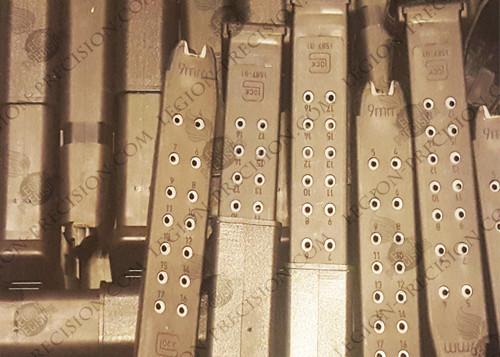 Glock 17 Hi Cap Mags bulk pack 17 rounds