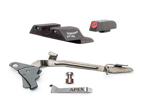 Glock 17/19/26/27/33/34 Apex Trigger & Trijicon HD Upgrade Package