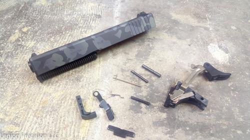 Poly 80 Glock 19 Gen 3 Completion kit Cerakote Urban multicam