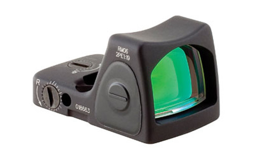 Trijicon, RMR Type 2 Reflex Sight, 3.25 MOA, Adjustable LED, Matte Black Finish