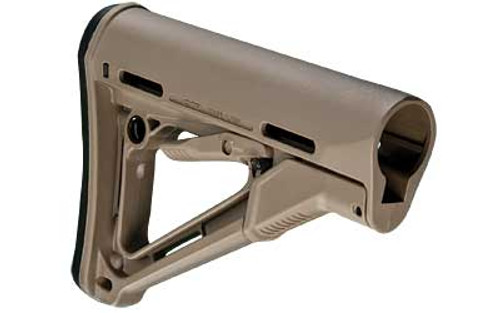 Magpul Industries, CTR Stock, Fits AR-15, Adjustable, Flat Dark Earth