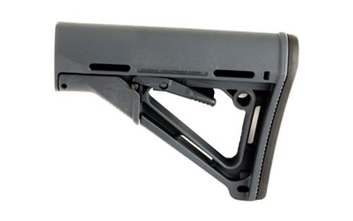 Magpul Industries, CTR Stock, Fits AR-15, Mil-Spec, Gray Finish