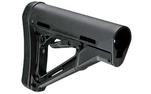 Magpul Industries, CTR Stock, Fits AR-15, Adjustable, Black Commercial