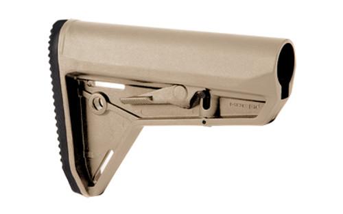 Magpul Industries, MOE Slim Line Carbine Stock, Fits AR-15, Mil-Spec, Flat Dark Earth Finish