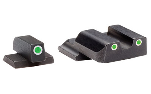 ameriglo classic series 3 dot sights for s w m p green green