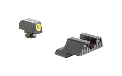 Trijicon, HD Night Sight, Fits Glock 42 and 43, Yellow Outline