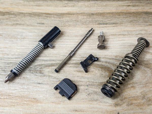 Glock 43 Slide internals with Guide rod no Barrel