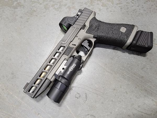 LP Window Cut blank slide for Glock 17L Gen 3