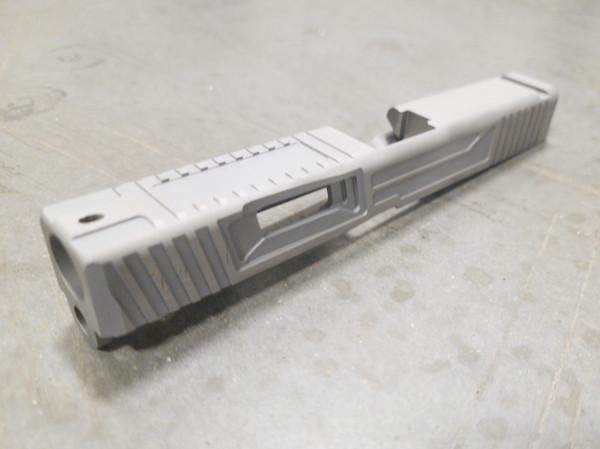 Urban Warfare Cut for Glock 43/43X on Blank slide we provide