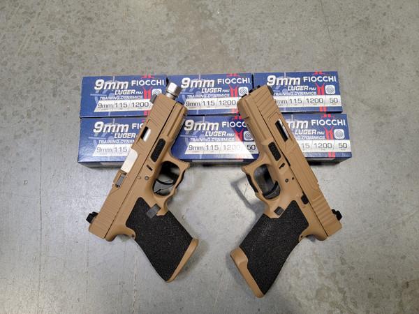 Glock 17 Gen 3 and Glock 19 Gen 3 Cerakote Troy coyote tan NEW