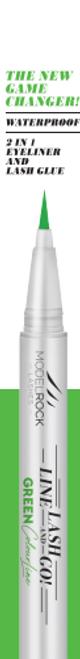 Line Lash & Go - Eyeliner Glue Adhesive Pen GREEN